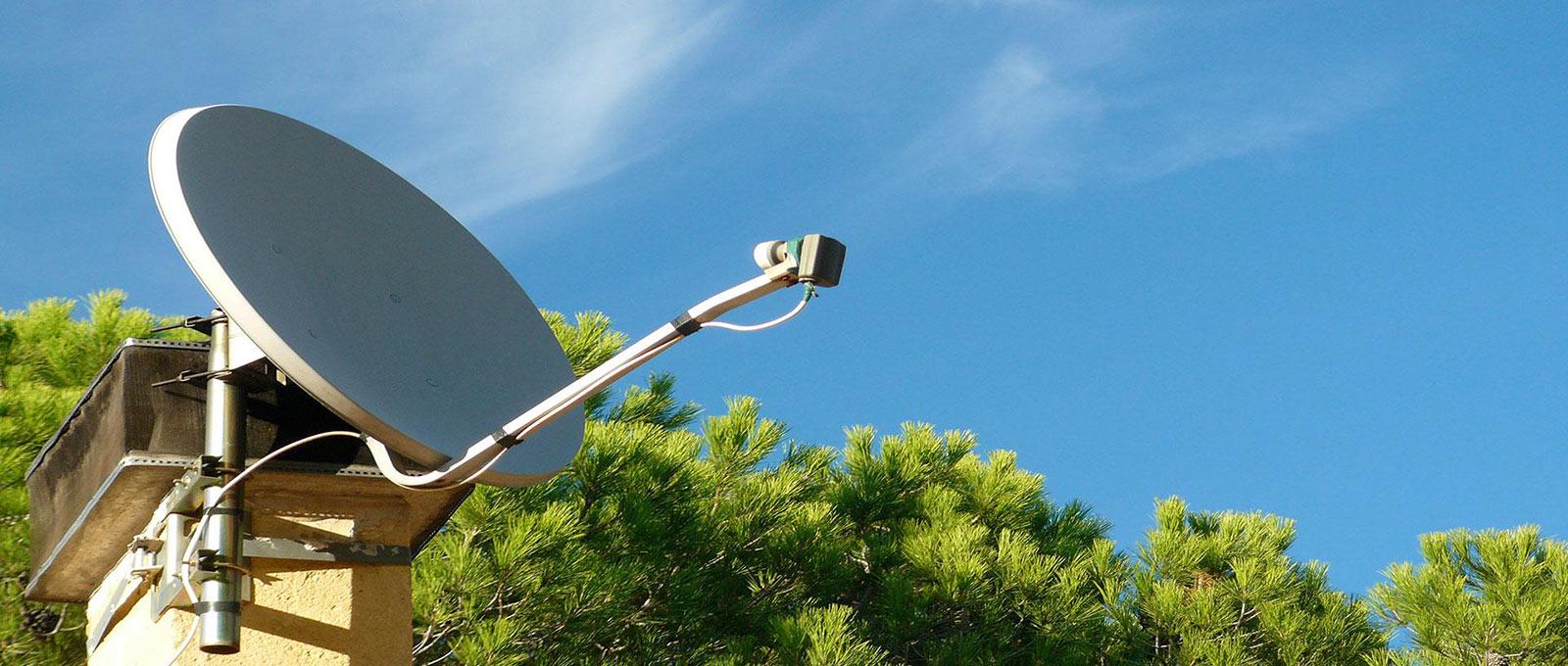 Antennes terrestres et satellites